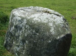 07.06.2008 The interior of the axial stone at Bohonagh with northern bevel